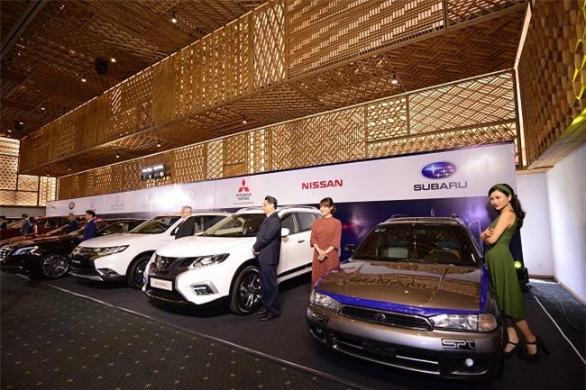 15 thương hiệu nổi tiếng trong Triển lãm ô tô Việt Nam 2018