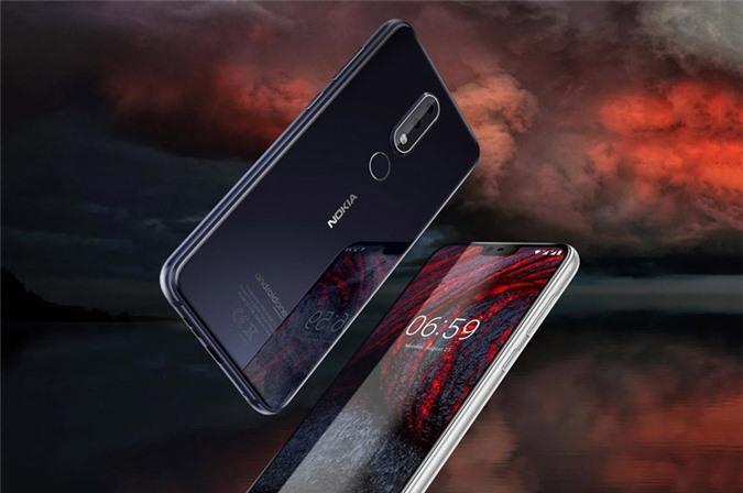 Ảnh chi tiết Nokia 6.1 Plus vừa ra mắt tại Việt Nam