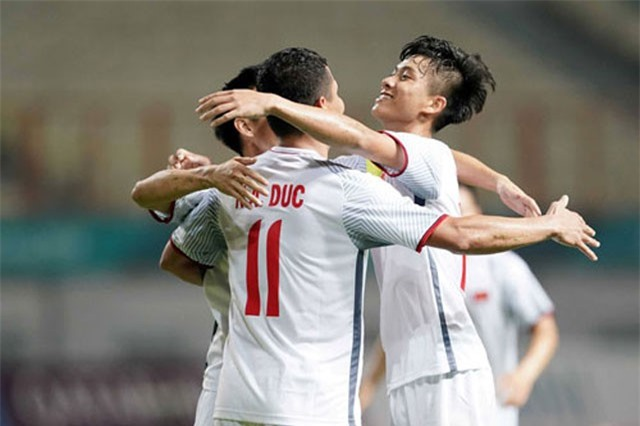 Lịch thi đấu vòng 1/8 bóng đá nam ASIAD 2018