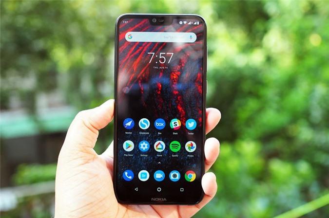 Clip mở hộp và trên tay Nokia 6.1 Plus giá 6,59 triệu tại Việt Nam