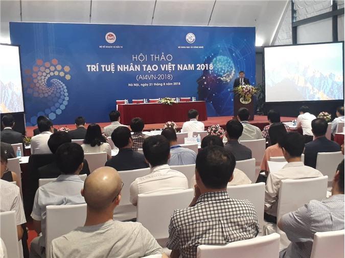 Gần 100 nhà khoa học tham gia Hội thảo trí tuệ nhân tạo Việt Nam 2018