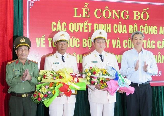 Bổ nhiệm Phó Giám đốc Công an Đà Nẵng, TPHCM