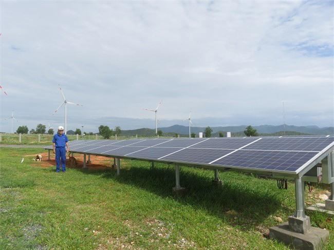 Tháo gỡ vướng mắc về chính sách để phát triển điện mặt trời. Ảnh: Kim Thanh