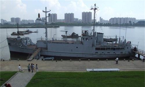 USS Pueblo được trưng bày tại Triều Tiên. Ảnh:Wikipedia.