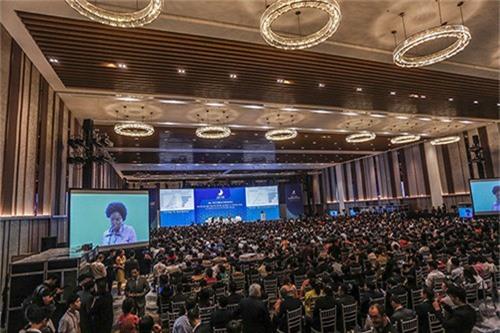 Hội nghị Thượng đỉnh Kinh doanh Việt Nam (VBS) tại Đà Nẵng năm ngoái. Ảnh:Nguyễn Đông