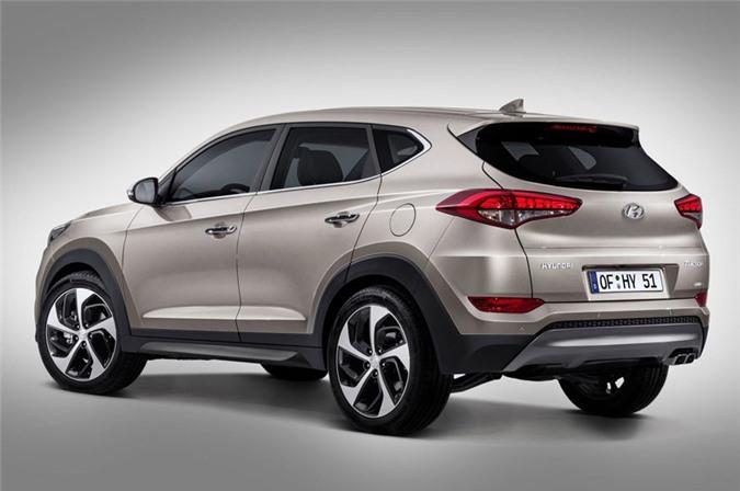 4. Hyundai Tucson (doanh số: 278.987 chiếc).