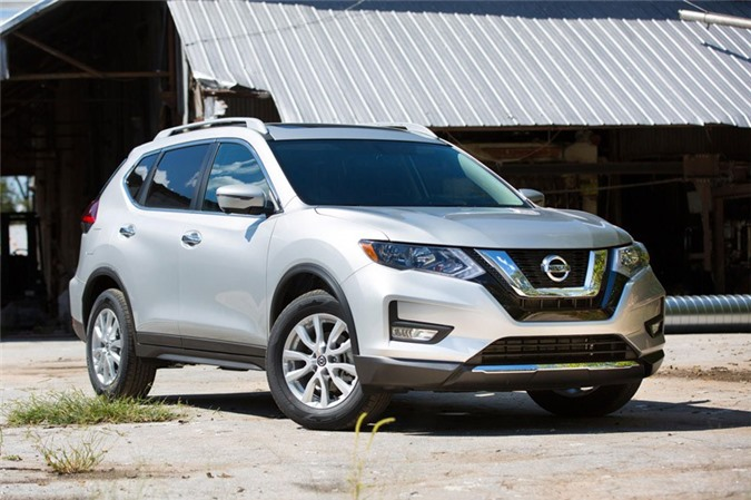 7. Nissan Rogue (doanh số: 238.810 chiếc).