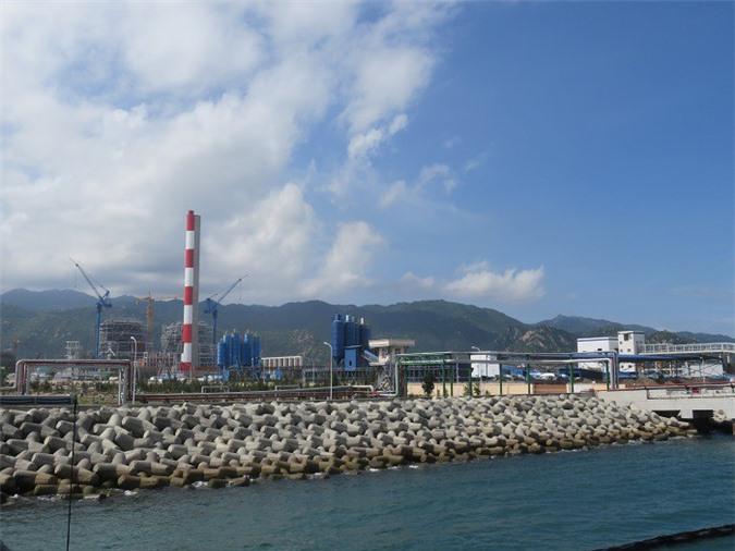 Một góc trung tâm nhiệt điện Vĩnh Tân, thuộc EVNGENCO3. Ảnh: Kim Thanh
