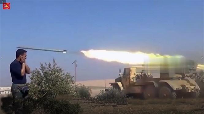 Hama: Thủ lĩnh khủng bố khét tiếng mất mạng sau loạt pháo kích của quân đội Syria