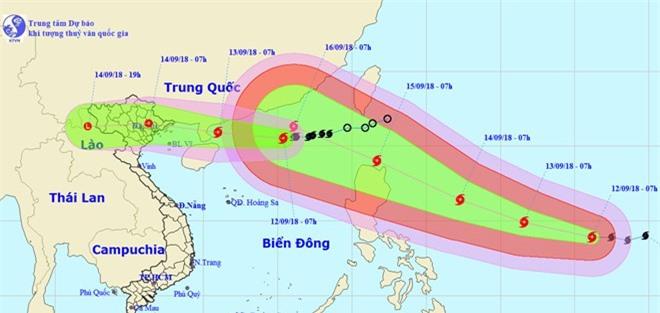 Bão số 5 khả năng hướng vào các tỉnh Quảng Ninh - Nam Định