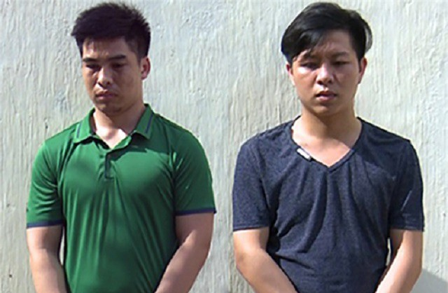Hai thanh niên cướp dây chuyền của vợ chồng cụ ông