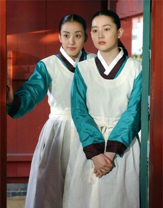 Park Eun Hye trong phim Nàng Dae Jang Geum, cô đóngvai cung nữ Yeon Saeng.