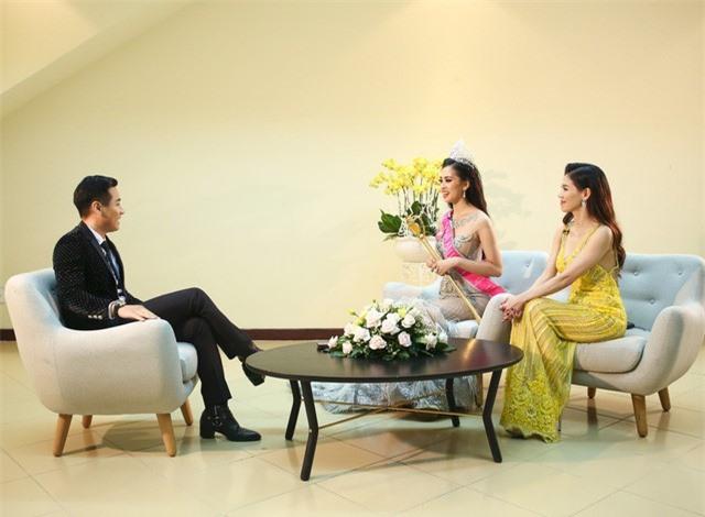 Bất ngờ với phản ứng của tân Hoa hậu Trần Tiểu Vy khi bị hỏi về chuyện Á hậu bán dâm nghìn đô