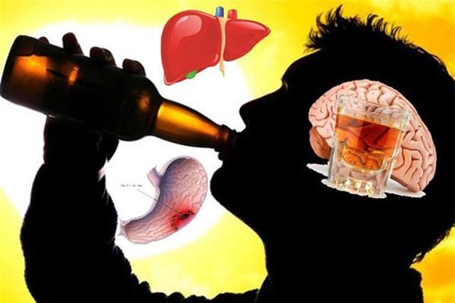 Tác hại của rượu, bia và những con số đáng báo động