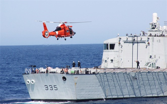 Tàu HMCS Calgary sẽ tới thăm và diễn tập với Hải quân Việt Nam