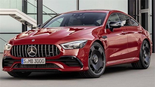 Cận cảnh Mercedes-AMG GT 43 coupe 4 cửa 2019 vừa ra mắt