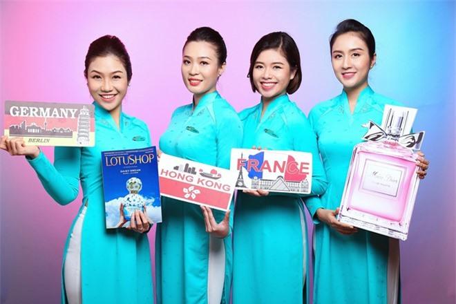Vietnam Airlines sẽ bán hàng miễn thuế trên máy bay