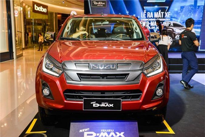Chi tiết mẫu bán tải Isuzu D-Max 2018 vừa ra mắt tại Việt Nam