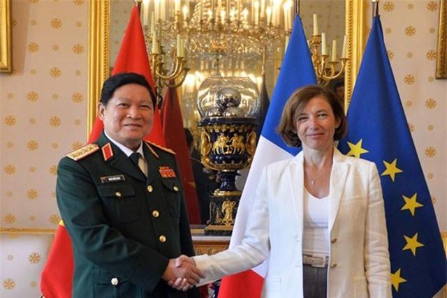 Bước tiến mới trong hợp tác quốc phòng Việt - Pháp