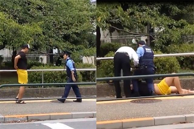Clip: Thanh niên nhận 'cái kết đắng' vì gây gổ cảnh sát
