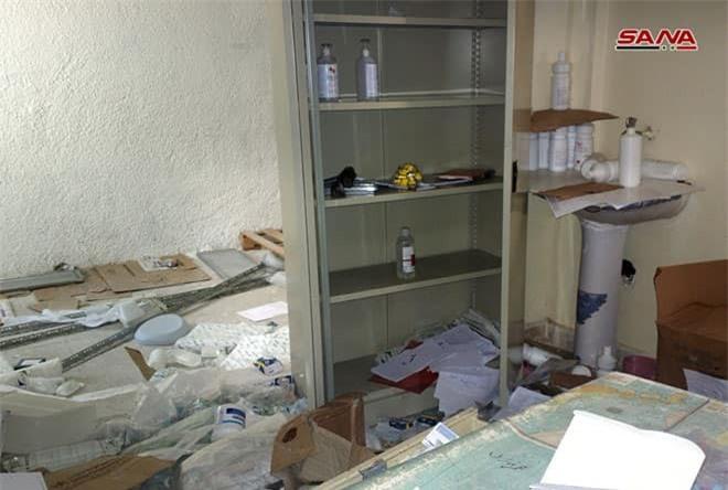 Ảnh: Quân cảnh Syria phát hiện bệnh viện dã chiến của phiến quân ở Quneitra