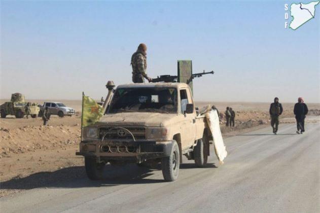 Syria: SDF chiếm cây cầu chiến lược từ tay IS trên sông Euphrates