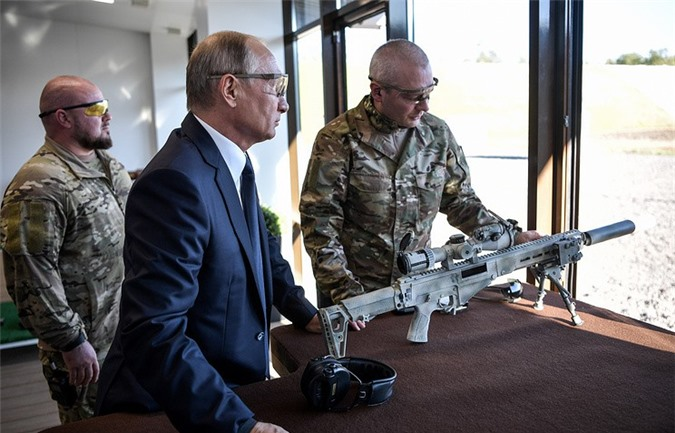 TT Putin khẳng định ưu thế của vũ khí Nga so với nước ngoài