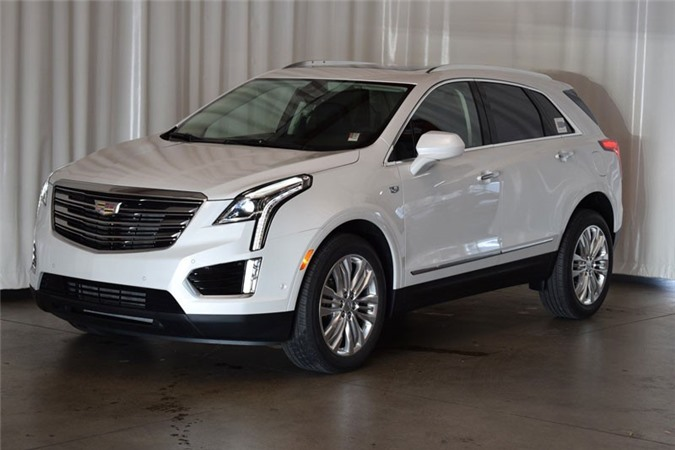 4. Cadillac XT5 2019.