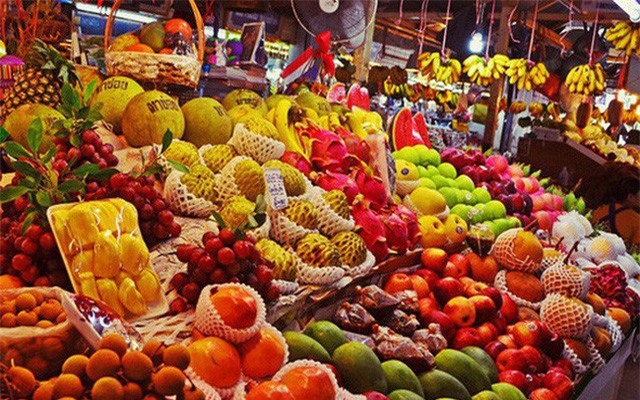 Mỗi tháng, người Việt chi gần 1.500 tỷ đồng mua hoa quả Thái Lan