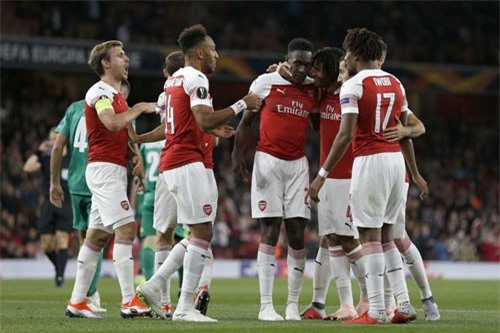 Kết quả Europa League rạng sáng 21/9: Arsenal, Chelsea 'bỏ túi' 3 điểm