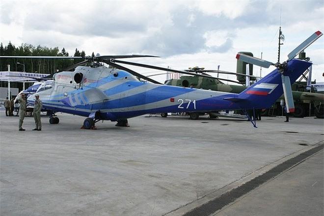 Ảnh: Nhìn lại sức mạnh đáng nể của lực lượng trực thăng quân sự Nga