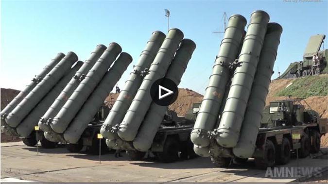 Clip: Nga đưa thêm tên lửa S-400 tới Crimea trực chiến