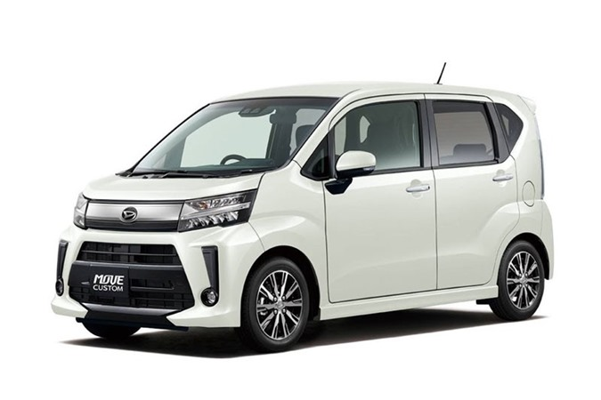 5. Daihatsu Move (doanh số: 92.269 chiếc).