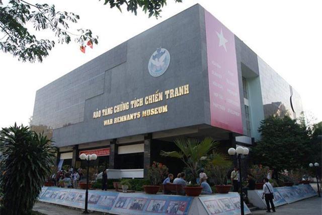 Bảo tàng Chứng tích Chiến tranh ở TP.HCM lọt top 10 bảo tàng hàng đầu thế giới