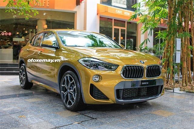 Cận cảnh BMW X2 vừa xuất hiện tại Việt Nam