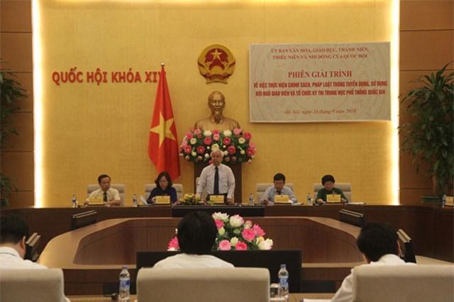 Bộ trưởng GD-ĐT: Thi THPT quốc gia sẽ không phục vụ mục tiêu '2 trong 1'