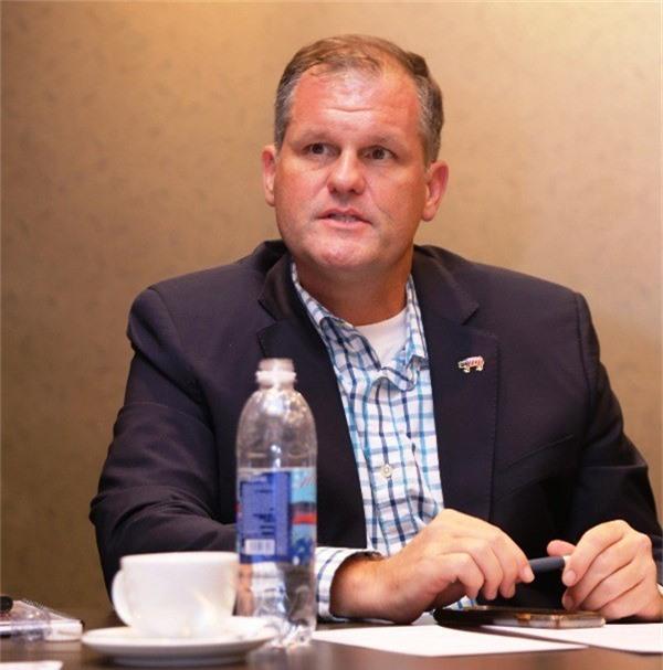 Ông Craig Morris, Phó Chủ tịch Ủy ban Tiếp thị toàn cầu – Hiệp hội chăn nuôi heo Hoa Kỳ mong muốn được xây dựng quan hệ lâu dài với Việt Nam. Ảnh: Đại Việt