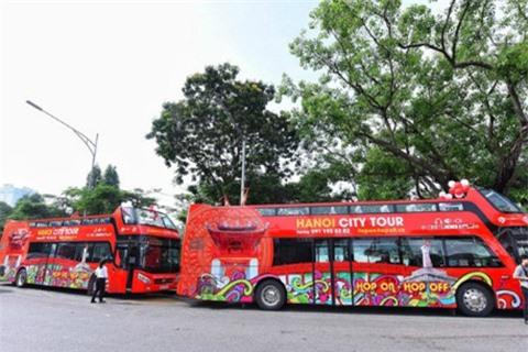 Tuyến buýt hai tầng đầu tiên ở Hà Nội hoạt động từ ngày 30/5.