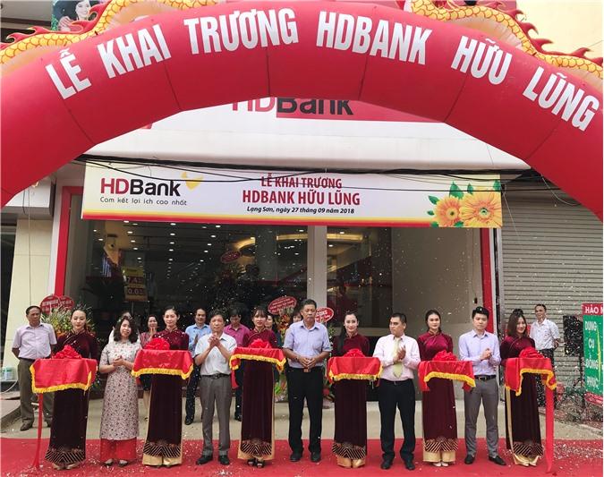 HDBank khai trương phòng giao dịch Hữu Lũng - Lạng Sơn
