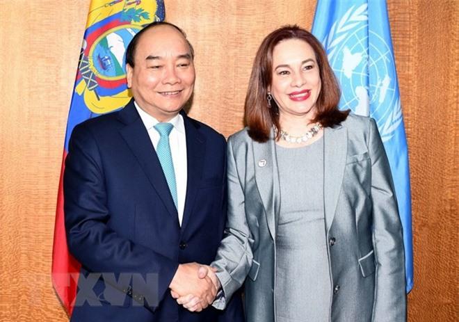 Thủ tướng gặp Chủ tịch Đại hội đồng và Tổng Thư ký Liên hợp quốc