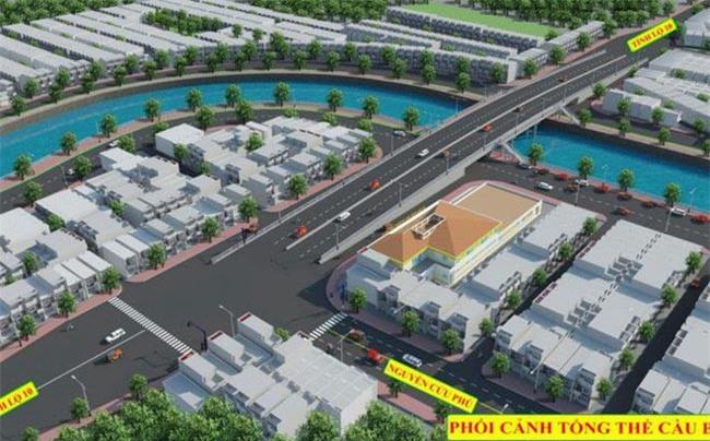 Phối cảnh cầu Bà Hom sắp được xây dựng mới, chi phí hơn 374 tỉ đồng (ảnh TL).