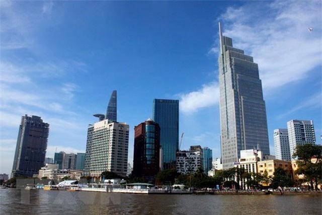 Một góc trung tâm quận 1, Thành phố Hồ Chí Minh. Ảnh minh họa. (Ảnh: Hoàng Hải/TTXVN).