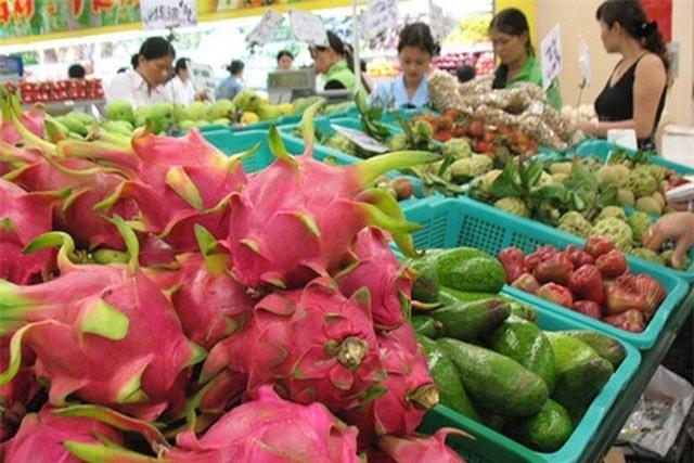 Ngành rau quả xuất siêu 1,8 tỷ USD, giá trái cây trong nước tăng mạnh
