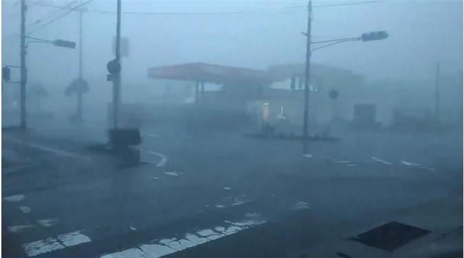 Clip: Siêu bão Trami càn quét toàn bộ phía Nam Nhật Bản