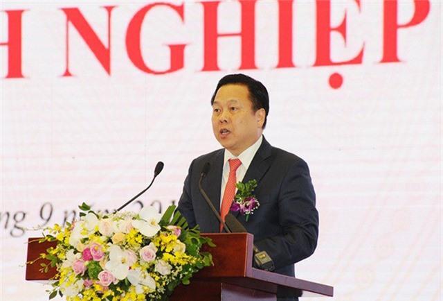 Ông Nguyễn Hoàng Anh, Ủy viên TW Đảng, Chủ tịch Ủy ban phát biểu tại Lễ ra mắt chiều 30/9.