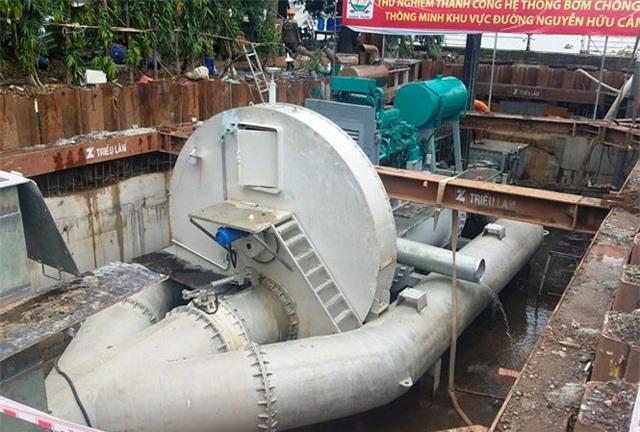 TP.HCM đưa mức giá thuê máy bơm chống ngập gần 9,9 tỷ đồng