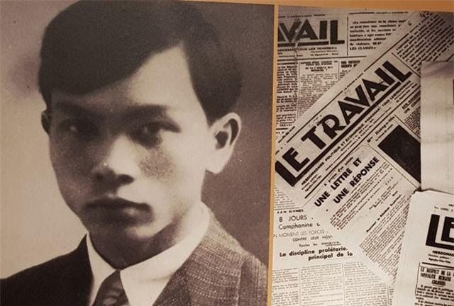 Đại tướng Võ Nguyên Giáp trước đây từng học trường luật, dạy học và viết bài cho các tờ báo Le Travail, Notre Voix…