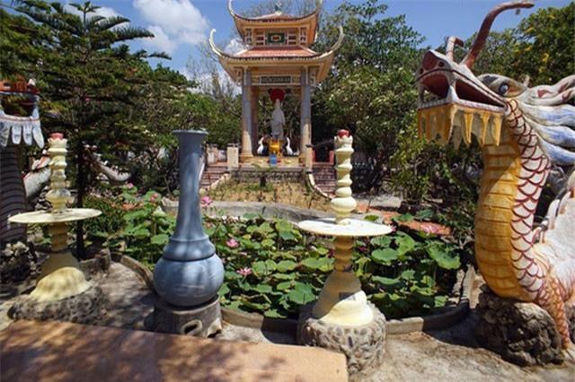 """Khám phá """"chùa vỏ ốc"""" độc nhất vô nhị Việt Nam"""