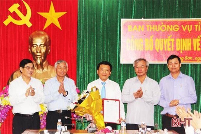 Nhân sự mới Nghệ An, Hà Tĩnh, Phú Yên, Hà Giang - ảnh 1