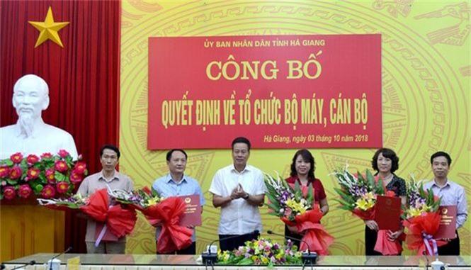 Nhân sự mới Nghệ An, Hà Tĩnh, Phú Yên, Hà Giang - ảnh 5